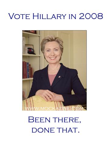 Mockazine: Campaign Slogans - Hillary '